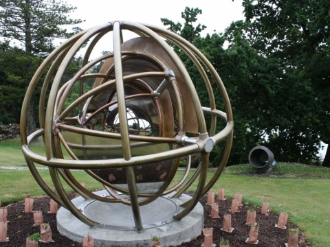 Andrew Drummond Sculpture - Armillary for Air